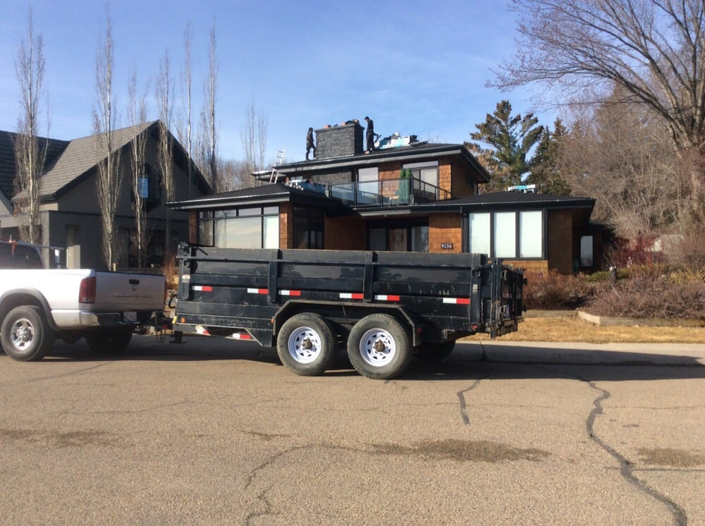Reached in south Edmonton for Emergency Roof  Repair