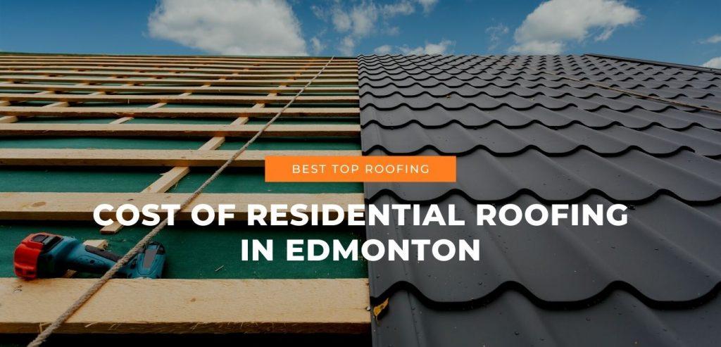 Best top roofing in Edmonton